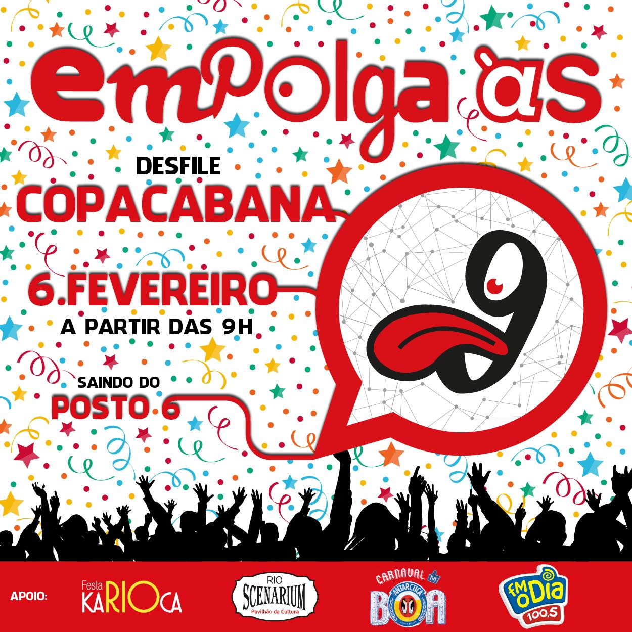 Empolgante Desfile de Copacabana